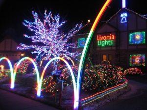 Livonia Michigan Christmas Display Detroit Lights